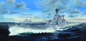 обзорное фото HMS Hood Battle Cruiser Флот 1/200