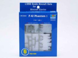 обзорное фото F-4J Phantoms II (6pcs. per box) Самолеты 1/350
