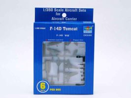 обзорное фото F-14D Tomcat (6pcs./box) Самолеты 1/350