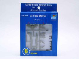 обзорное фото A-3D Sky Warrior (6pcs. per box) Самолеты 1/350