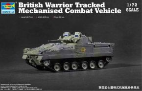 обзорное фото British Warrior Tracked Mechanized Combat Vehicle Бронетехника 1/72