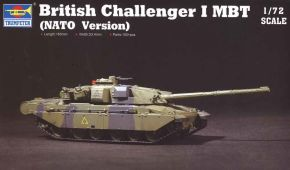 обзорное фото British Challenger I MBT (NATO Version) Бронетехника 1/72