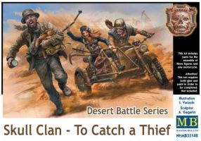 "обзорное фото ""Desert Battle Series, Skull Clan - To Catch a Thief""                            Фигуры 1/35"