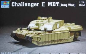 обзорное фото Challenger II MBT(Iraq War) Бронетехника 1/72