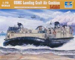 обзорное фото USMC Landing Craft Air Cushion (LCAC) Флот 1/72