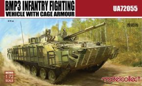 обзорное фото BMP3 INFANTRY FIGHTING VEHICLE WITH CAGE ARMOUR  Бронетехника 1/72
