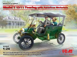 обзорное фото Model T 1911 Touring with American Motorists Автомобили 1/24