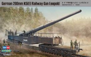 обзорное фото German 280mm K5(E) Railway Gun Leopold Артиллерия 1/72