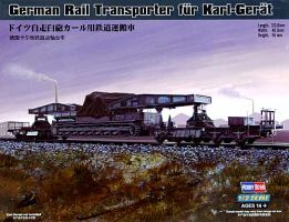 обзорное фото German Rail Transporter for Karl-Geraet Артиллерия 1/72