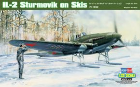 обзорное фото IL-2 Sturmovik on Skis Самолеты 1/32