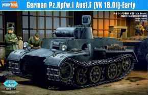 German Pzkpfw.I Ausf.F (VK1801)-Early