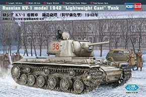 обзорное фото Russian KV -1 Model 1942 Lightweight Cast Tank Бронетехника 1/48