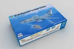обзорное фото EA-3B SkyWarrior Strategic Bomber  Самолеты 1/48