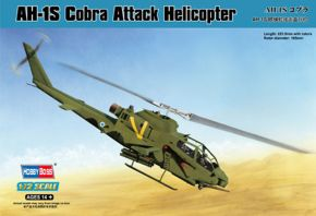 обзорное фото AH-1S Cobra Attack Helicopter Вертолеты 1/72