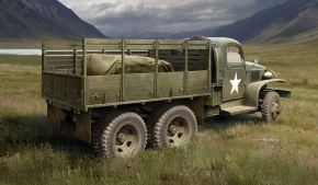 US GMC CCKW-352 Wood Cargo Truck