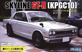обзорное фото 1:24 ID-33 KPGC10 skyline GT-R 2door '71 Автомобили 1/24