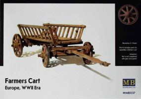 "обзорное фото ""Farmers Cart"", Europe, WWII Era    Фигуры 1/35"