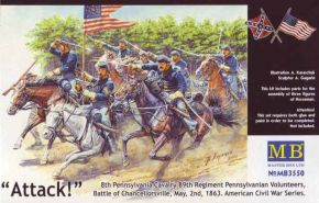 "обзорное фото ""8th Pennsylvania Cavalry Regiment"" Фигуры 1/35"