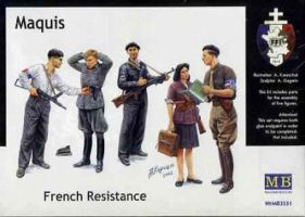 "обзорное фото ""Maquis, French Resistance""   Фигуры 1/35"