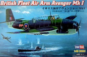 обзорное фото British Fleet Air Arm Avenger Mk 1 Самолеты 1/48