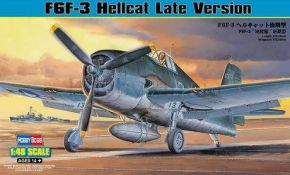 обзорное фото  F6F-3 Hellcat Late Version Самолеты 1/48