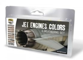 JET ENGINES COLORS AND WEATHERING
