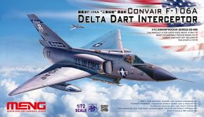обзорное фото  CONVAIR F-106A DELTA DART INTERCEPTOR Самолеты 1/72