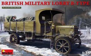обзорное фото BRITISH MILITARY LORRY B-TYPE Автомобили 1/35