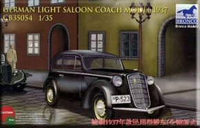 обзорное фото German Light Saloon Coach Mod.1937 Автомобили 1/35