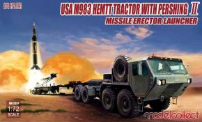 обзорное фото USA M983 HEMTT Tractor with Pershing II Missile Erector Launcher Автомобили 1/72