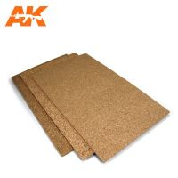 обзорное фото Cork Sheet 200x300x 3mm coarse grained Разное