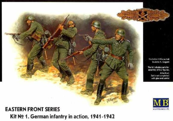 preview GERMAN INFANTRY IN ACTION 1941-42