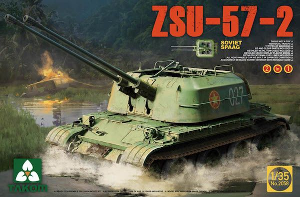 preview Soviet SPAAG ZSU-57-2 2 in 1