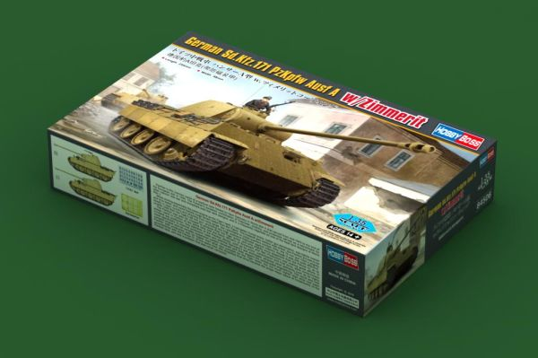 preview German Sd.Kfz.171 PzKpfw Ausf A w/ Zimmerit