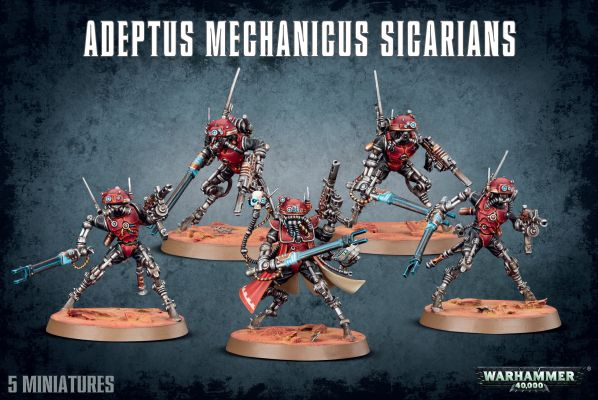 preview ADEPTUS MECHANICUS SICARIANS