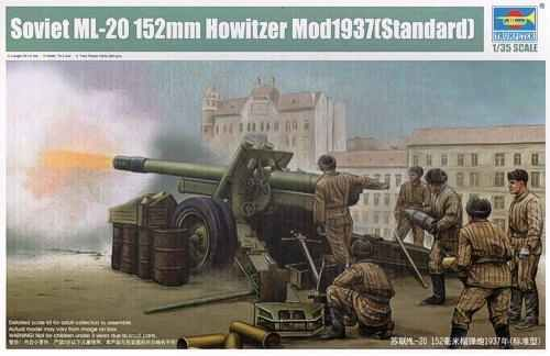 preview Soviet ML-20 152mm Howitzer Mod1937(Standard)