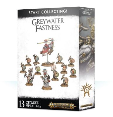 START COLLECTING! GREYWATER FASTNESS детальное изображение CITIES OF SIGMAR GRAND ALLIENCE ORDER