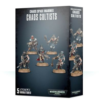 ETB: CHAOS SPACE MARINES CHAOS CULTISTS детальное изображение Космический Десант Хаоса WARHAMMER 40,000