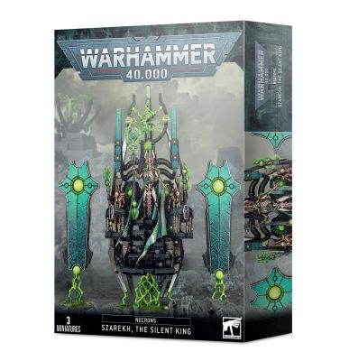 preview NECRONS: SZAREKH THE SILENT KING