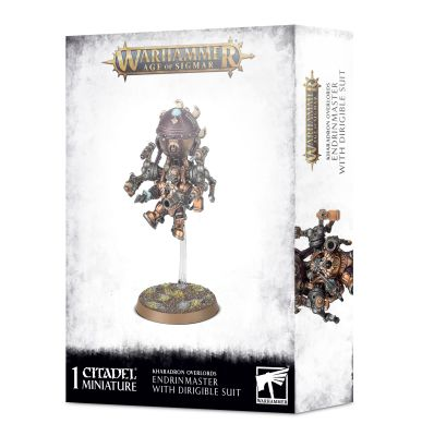 KHARADRON ENDRINMASTER IN DIRIGIBLE SUIT детальное изображение KHARADRON OVERLORDS/Харадронские Владыки GRAND ALLIENCE ORDER
