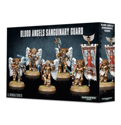 BLOOD ANGELS SANGUINARY GUARD детальное изображение Кровавые Ангелы WARHAMMER 40,000