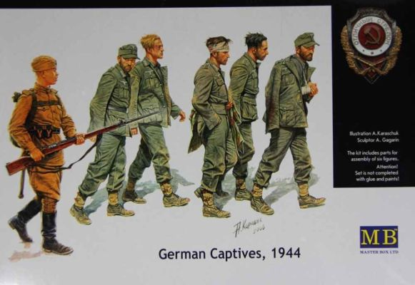 German Captives, 1944 детальное изображение Фигуры 1/35 Фигуры