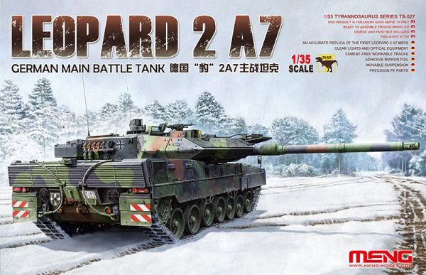preview  GERMAN MAIN BATTLE TANK LEOPARD 2 A7