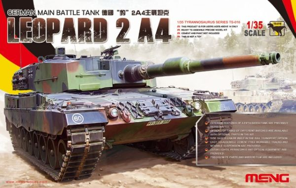 preview GERMAN MAIN BATTLE TANK LEOPARD 2 A4